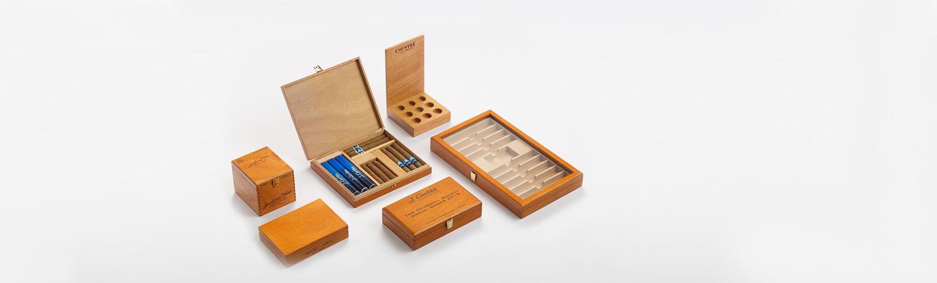 Range of Cigar Presenters