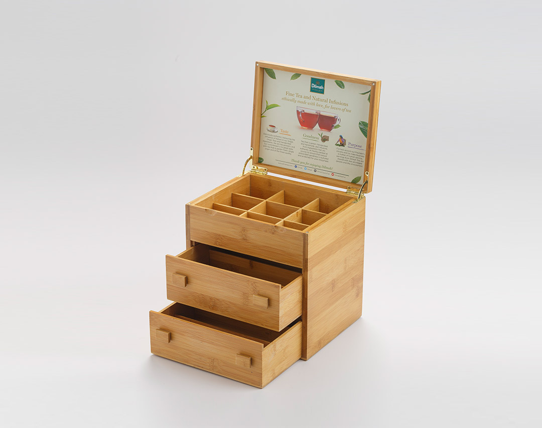 Bamboo TB Drawer Type Presenter (9x10)