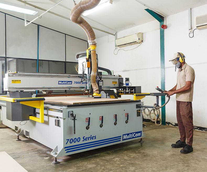 Gantry design machine