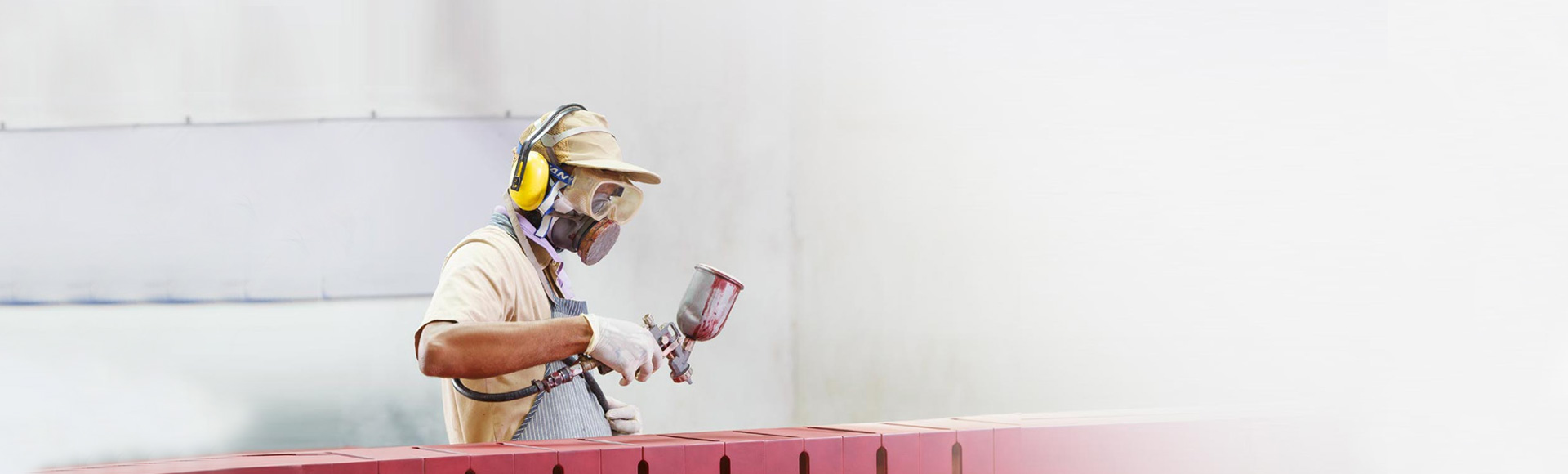 Timber Concepts - Spray Painting Process