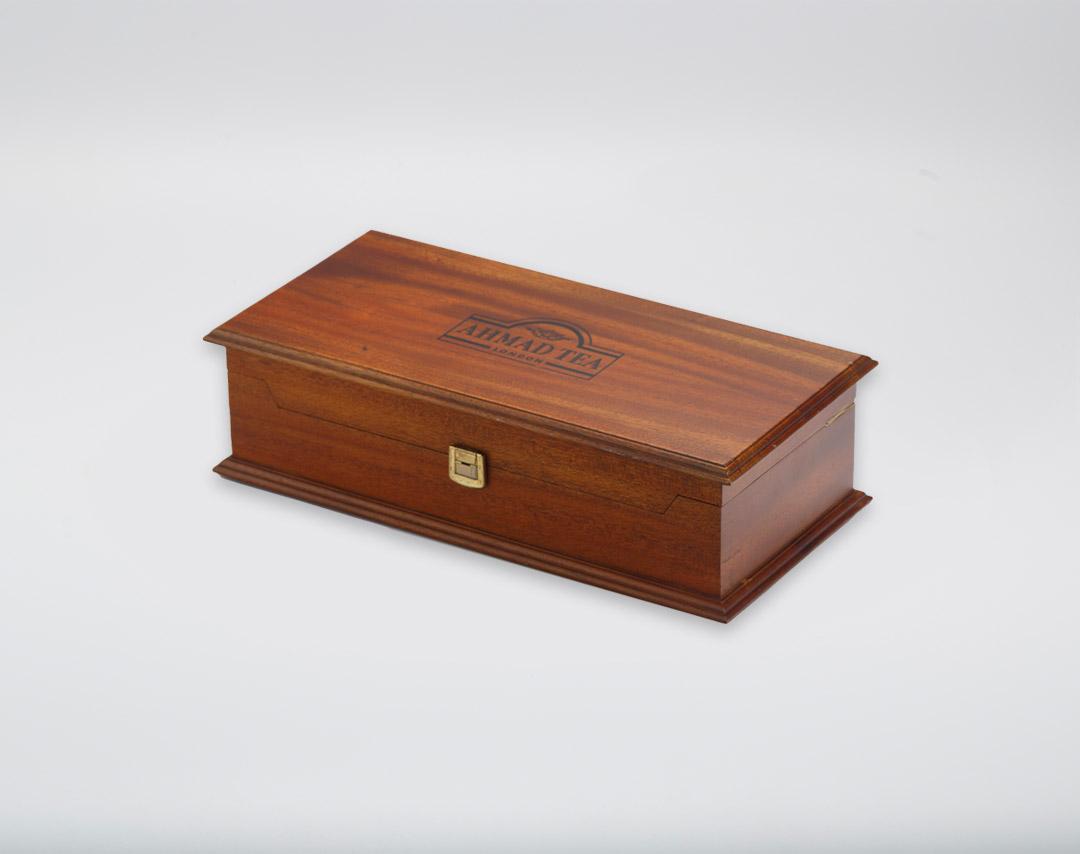 Mahogany 10x10 Decorative QH Presenter